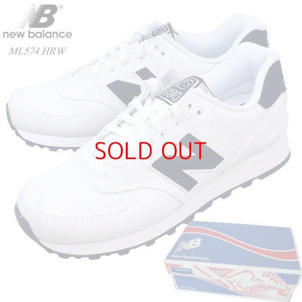 9a73bd55bd496 セール NEW BALANCE ML574 HRW 日本未発売 海外限定モデル ホワイトキャンバス×ネイビー 574 Pique Polo Pack  本物正規品