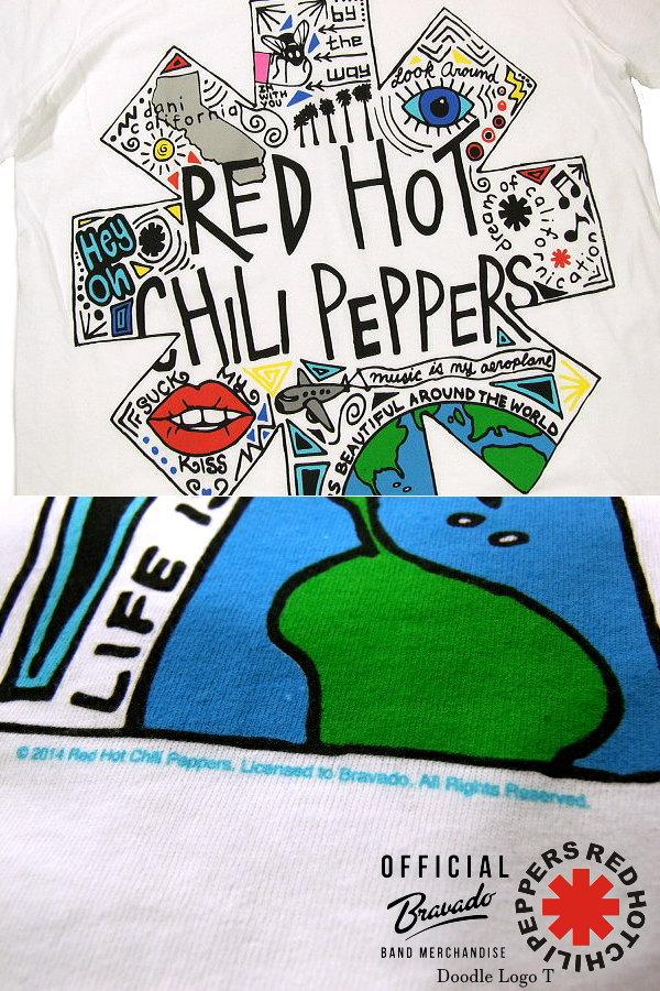G/én/érique Red Hot Chili Peppers Porte-cl/és M/étal Logo